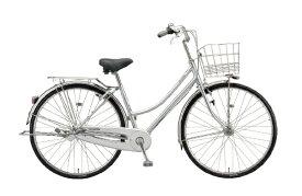 ブリヂストン BRIDGESTONE 自転車 ロングティーン デラックス チェーン・L型 M.XRシルバー L7LT1 [27インチ /内装3段 /27インチ]【組立商品につき返品不可】 【代金引換配送不可】