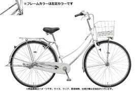 ブリヂストン BRIDGESTONE 自転車 ロングティーン スタンダード W型 M.XRシルバー L70WT1 [27インチ /変速なし /27インチ]【組立商品につき返品不可】 【代金引換配送不可】
