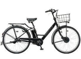 ブリヂストン BRIDGESTONE 26型電動アシスト自転車 ステップクルーズe(T.Xクロツヤケシ/内装3段変速) ST6B41【20201年モデル】【組立商品につき返品不可】 【代金引換配送不可】