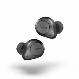 JABRA ジャブラ フルワイヤレスイヤホン Elite 85t チタニウムブラック 100-99190000-40 [リモコン・マイク対応 /ワイヤレス(左右分離) /Bluetooth /ノイズキャンセリング対応][ワイヤレスイヤホン]【rb_cpn】
