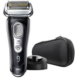 ブラウン BRAUN メンズシェーバー[国内・海外対応] シリーズ9 ブラック 9340s-V [4枚刃 /AC100V-240V][電気シェーバー 髭剃り 上位モデルおすすめ]