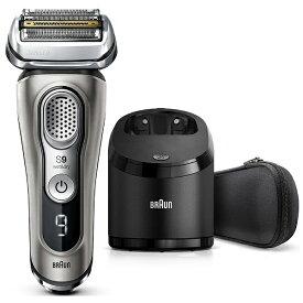 ブラウン BRAUN メンズシェーバー[国内・海外対応] シリーズ9 グレー 9365CC-V [4枚刃 /AC100V-240V][電気シェーバー 髭剃り 上位モデルおすすめ]