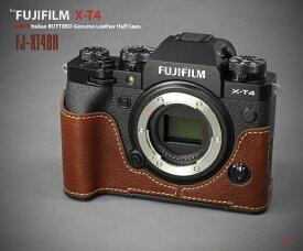 リムズ LIM'S 本革カメラハーフケース ブラウン FJ-XT4BR