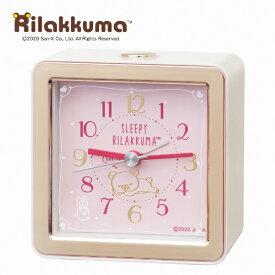 セイコー SEIKO 目覚まし時計 【リラックマ】 薄ピンク CQ161P [アナログ]