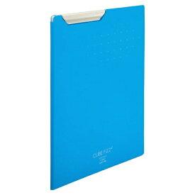 リヒトラブ LIHIT LAB. クリップファイル A4 ブルー F-6067-8