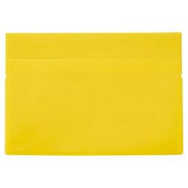 リヒトラブ LIHIT LAB. ワンタッチホルダー A4ワイド 黄色 F-3447-5