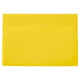 リヒトラブ LIHIT LAB. ワンタッチホルダー B5ワイド 黄色 F-3444-5