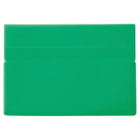 リヒトラブ LIHIT LAB. ワンタッチホルダー B5ワイド 緑 F-3444-7
