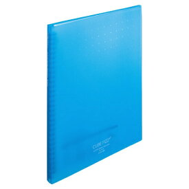 リヒトラブ LIHIT LAB. クリヤーブック<ポケット交換タイプ>(ポケット15枚) A4 ブルー N-7015-8