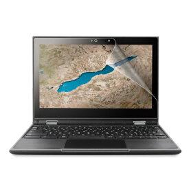 エレコム ELECOM Lenovo 300e Chromebook 2nd Gen用 反射防止フィルム EF-CBL04FLST
