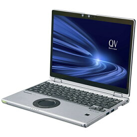 パナソニック Panasonic CF-QV9ADMQR ノートパソコン レッツノート QVシリーズ ブラック&シルバー [12.0型 /intel Core i7 /SSD:256GB /メモリ:16GB /2020年10月モデル]