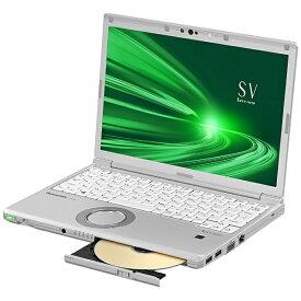 パナソニック Panasonic CF-SV9ADSQR ノートパソコン レッツノート SVシリーズ シルバー [12.1型 /intel Core i5 /SSD:256GB /メモリ:8GB /2020年10月モデル]