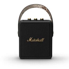 Marshall マーシャル ブルートゥーススピーカー ブラック&ブラス STOCKWELLII-BLACK-AND-BRASS [Bluetooth対応]