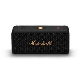 Marshall マーシャル ブルートゥーススピーカー EMBERTON-BLACK-AND-BRASS ブラック&ブラス [Bluetooth対応 /防水]