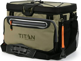 TITAN タイタン ジッパーレス クーラーバッグ TITAN DEEP FREEZE 30 CAN ZIPPERLESS HARDBODY COOLER(モス)1718IL918763【正規品】