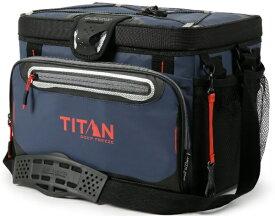 TITAN タイタン ジッパーレス クーラーバッグ TITAN DEEP FREEZE 30 CAN ZIPPERLESS HARDBODY COOLER(ネイビー)5-99309-03-06【正規品】