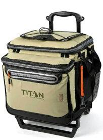TITAN タイタン ローリング ジッパーレスクーラーバッグ TITAN DEEP FREEZE 60(50+10)CAN ROLLING COOLER(モス) 5-21580-15-0E【正規品】