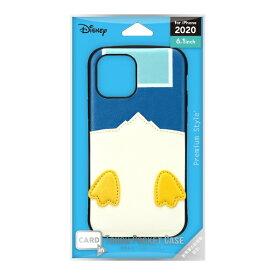 PGA iPhone 12/12 Pro 6.1インチ対応タフポケットケース ドナルドダック Premium Style PG-DPT20G02DND