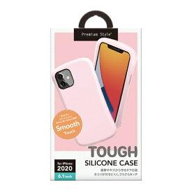 PGA iPhone 12/12 Pro 6.1インチ対応シリコンタフケース ベビーピンク Premium Style ベビーピンク PG-20GSC05PK