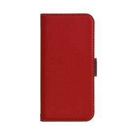 ラスタバナナ RastaBanana iPhone 12 mini 5.4インチ対応 薄型手帳 SMG レッド×ネイビー 5603IP054BO