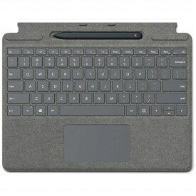 マイクロソフト Microsoft 【純正】 Surface Pro X Signature キーボード スリム ペン付き プラチナ 25O-00079