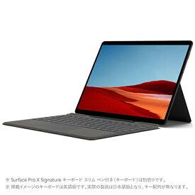 マイクロソフト Microsoft 1WT-00024 Surface Pro X(サーフェス プロ X) 【LTE対応】 ブラック [13.0型 /Microsoft SQ2 /SSD:256GB /メモリ:16GB /2020年10月モデル]