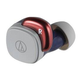 オーディオテクニカ audio-technica フルワイヤレスイヤホン ネイビーレッド ATH-SQ1TW NRD [リモコン・マイク対応 /ワイヤレス(左右分離) /Bluetooth]