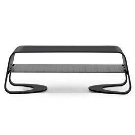 TWELVESOUTH モニタースタンド [W316xD235xH108mm /iMac対応] Curve Riser ブラック TWS-ST-000065
