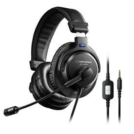 オーディオテクニカ audio-technica ATH-770XCOM ヘッドセット [φ3.5mmミニプラグ /両耳 /ヘッドバンドタイプ]