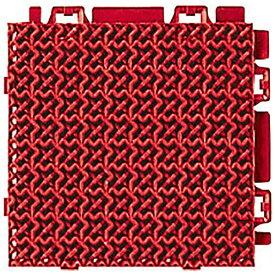 山崎産業 Vステップマット 13SコマY5R レッド 40758