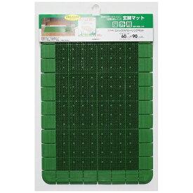 山崎産業 エバックハイロ−リングマット ヘッタ−付き No6 グリーン グリーン 50289