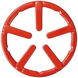 パール金属 PEARL METAL フェール 鉄鋳物製ミニ五徳ホーロー加工 レッド HB-4196