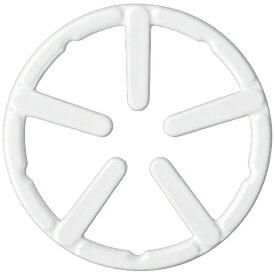 パール金属 PEARL METAL フェール 鉄鋳物製ミニ五徳ホーロー加工 ホワイト HB-4197