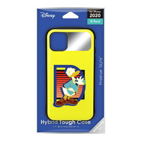PGA iPhone 12/12 Pro 6.1インチ対応ハイブリッドタフケース ドナルドダック Premium Style ドナルドダック PG-DPT20G11DND