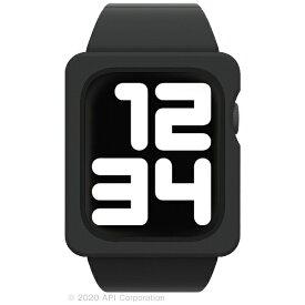 アピロス apeiros EYLE TILE Apple Watch Band Case 44mm BLACK for Series 6/5/4/SE XEA03-TL-BK