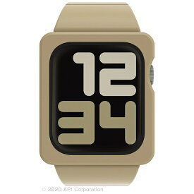 アピロス apeiros EYLE TILE Apple Watch Band Case 44mm BEIGE for Series 6/5/4/SE XEA03-TL-BE