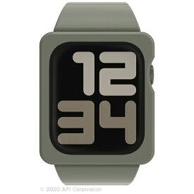 アピロス apeiros EYLE TILE Apple Watch Band Case 44mm KHAKI for Series 6/5/4/SE XEA03-TL-KH
