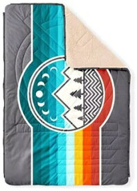 VOITED アウトドアブラケット CLOUDTOUCH PILLOW BLANKET(137×203cm(解放時)/Camp Vibes)7VTDCLT