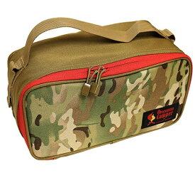 Oregonian Camper オレゴニアンキャンパー セミハードギアバッグ SEMI HARD GEAR BAG(Mサイズ・30×15×14cm/Multi Camo×Coyote)7OCB714