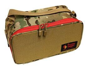 Oregonian Camper オレゴニアンキャンパー セミハードギアバッグ SEMI HARD GEAR BAG(Mサイズ・30×15×14cm/Coyote×Multi Camo)7OCB714