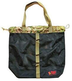 OREGONIANCAMPER メッシュバッグ メッシュドライバッグ MESH DRY BAG(幅30×高さ38×マチ15cm/MULTI CAMO×BLACK(マルチカモ×ブラック)) 7OCA801