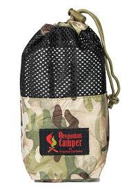 Oregonian Camper オレゴニアンキャンパー メッシュポーチ メスティンポーチ MESSTIN POUCH -S(縦11×横24×マチ8cm/BLACK×MULTI CAMO(ブラック×マルチカモ))7OCB808