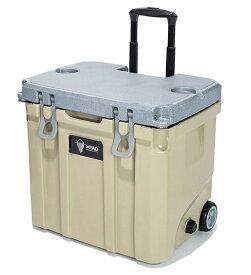 OREGONIANCAMPER クーラーボックス HYAD ヒャド ホイール付き 37QT(約35.2L・約53.6×47.5×38.2cm・厚み 約5cm/CAPPCCINO(カプチーノ))7OHDC2037