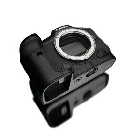 GARIZ ゲリズ Canon EOS R5/R6 兼用 本革カメラケース ブラック XS-CHEOSR5BK