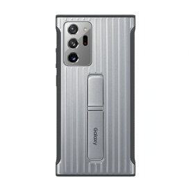 SAMSUNG サムスン 【サムスン純正】Galaxy Note20 Ultra PROTECTIVE STANDING COVER サムスン純正 シルバー EF-RN985CSEGJP