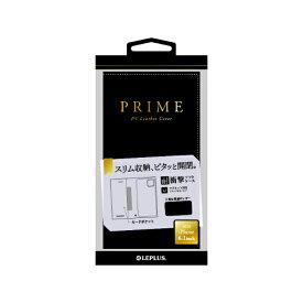 MSソリューションズ iPhone 12/12 Pro 6.1インチ対応 薄型PUレザーフラップケース PRIME ネイビー LP-IM20PRINV