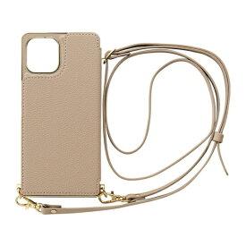 CCCフロンティア CCC FRONTIER iPhone 12/12 Pro 6.1インチ対応 ケース Cross Body Case ベージュ ML-CSIP20L-2CBBE