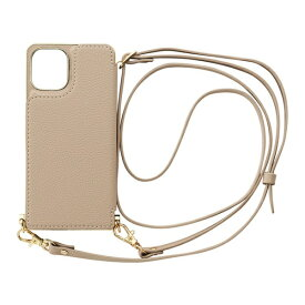 CCCフロンティア CCC FRONTIER iPhone 12 mini 5.4インチ対応 ケース Cross Body Case ベージュ ML-CSIP20M-2CBBE