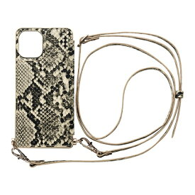 CCCフロンティア CCC FRONTIER iPhone 12 mini 5.4インチ対応 ケース Cross Body Case Animal Series パイソン ML-CSIP20M-2CBPY