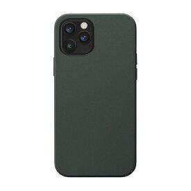 CCCフロンティア CCC FRONTIER iPhone 12/12 Pro 6.1インチ対応 ケース Smooth Touch Hybrid Case グリーン UNI-CSIP20L-1STGR